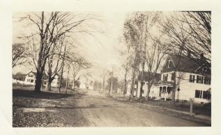 Central Street at Lowell Road 1935