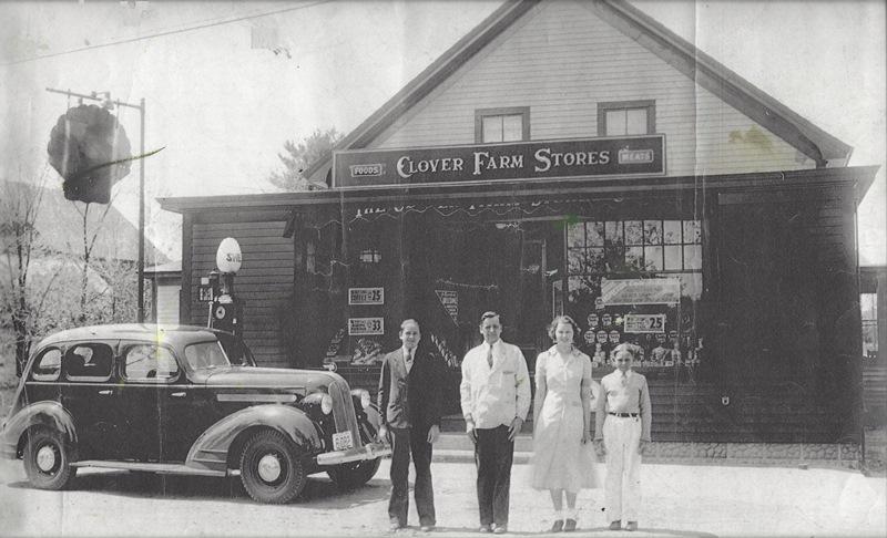 Clover Farm Store C1935 Cop