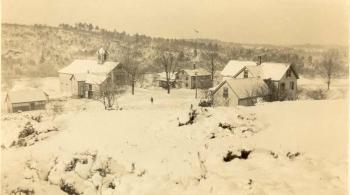 Haselton Farm on Bush Hill Road C 1920