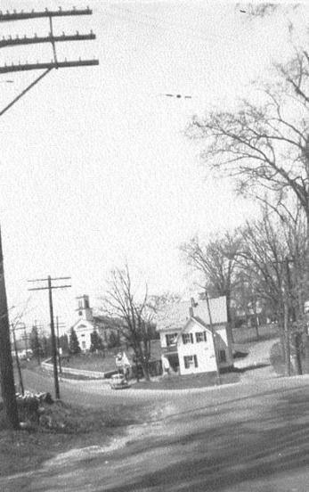Hudson Center from School 1946