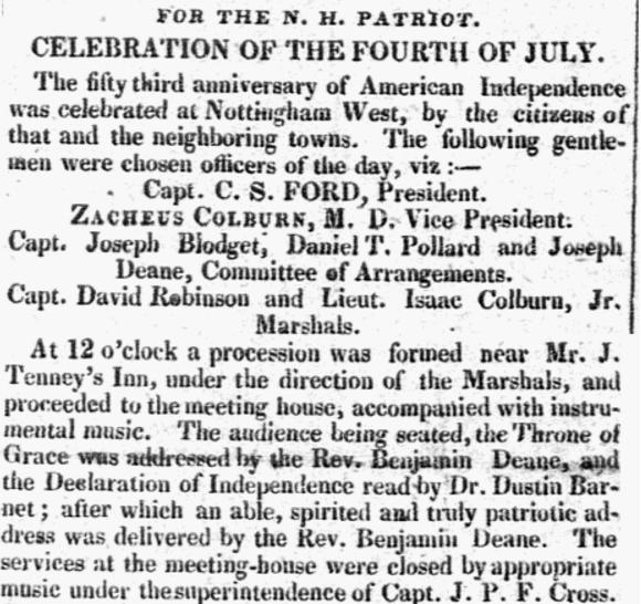 July 20 1829