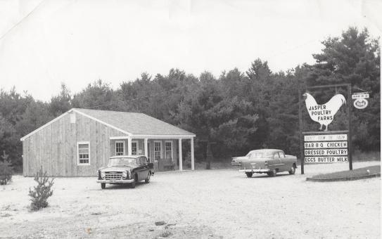 296 Derry Road Jasper Farm Stand C 1962