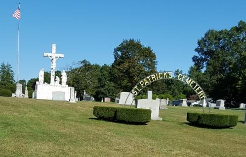 St Patricks Cemetery Entry S