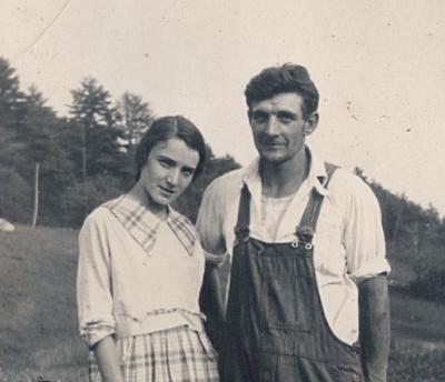 Charlie and Ernestine c1920