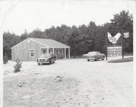 296 Derry Road Jasper Farm Stand C 1962