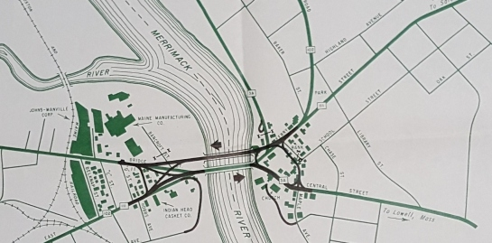 1967 Bridge Map