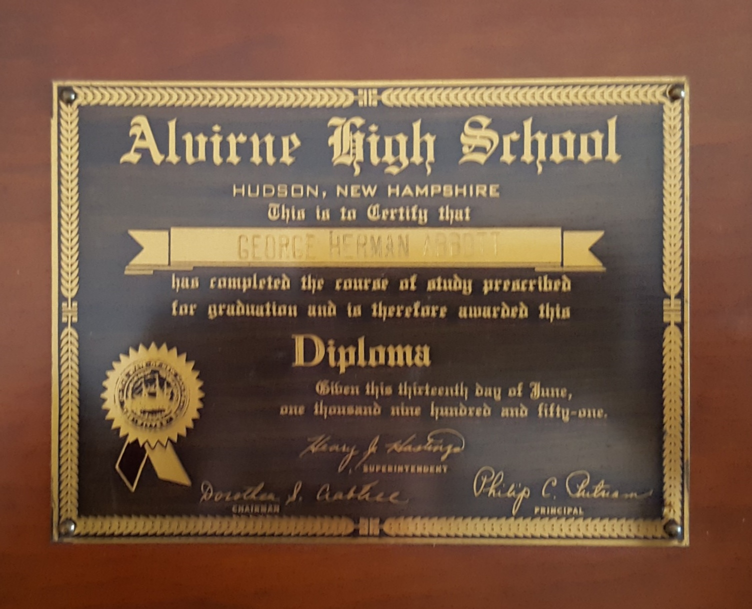 First Diploma
