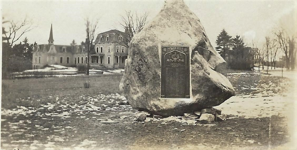 Library Park WW1