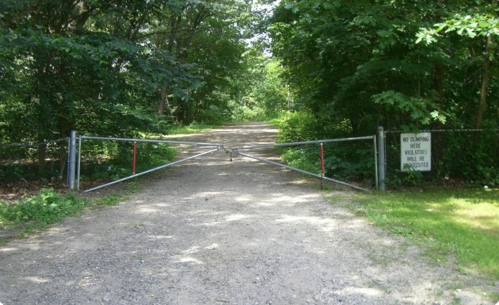Entrance to Merrill Park